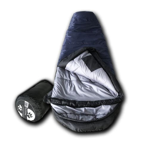Wolftraders KidMummy 20-Degree Fahrenheit Premium Youth Mummy Sleeping Bag
