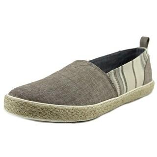 Generic Surplus Slip-on Men Round Toe Canvas Loafer