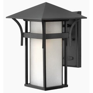 """Hinkley Lighting 2574 13.5"""" Height 1 Light Lantern Outdoor Wall Sconce from the Harbor Collection"""