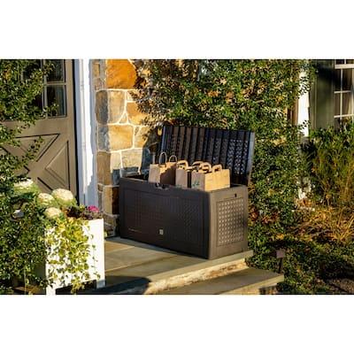 Urban Matuba Home and Garden Storage Box w/wheels, 82 gallon capacity - 82 gallon