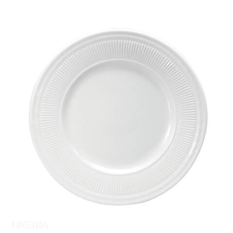 """Buffalo Nottingham Porcelain Plates 7.125"""" (Set of 36) by Oneida"""