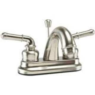 Toolbasix JY-4233BN Lavatory Faucets Non-Metal, Brass Nickel
