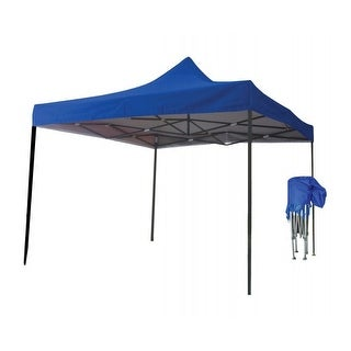 Just Relax Folding Gazebo Canopy, 10x10 Feet
