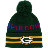 Green Bay Packers Superbowl II Knit Hat with Pom