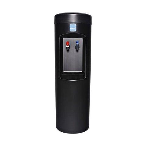 Clover D7A Water Dispenser -Hot and Cold, Bottleless With Install Kit, 2HL Filter, Filter Head - Black