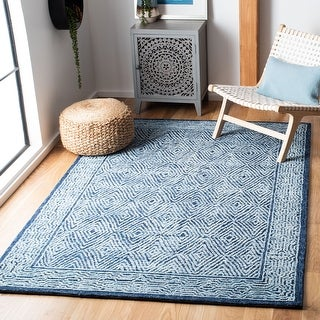 Link to Safavieh Handmade Capri Berntraud Contemporary Wool Rug Similar Items in Transitional Rugs