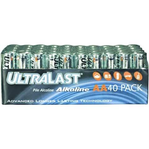 Ultralast AA Alkaline Bulk Pack 40pc