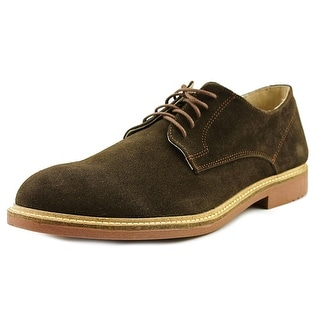 Independent Boot Company Deacon Oxford Round Toe Suede Oxford