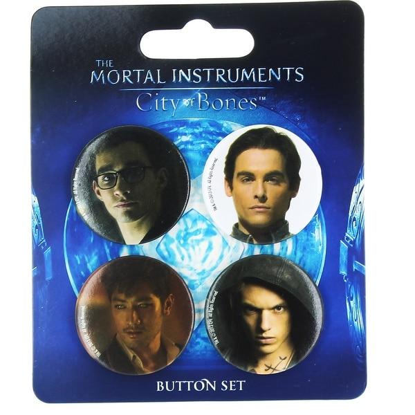 The Mortal Instruments City of Bones 4-Piece Button Set