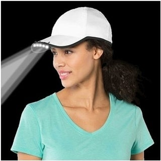 Under the Brim LED Hat Light for Walking, Gardening and Home Repair