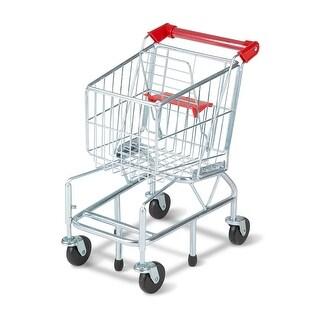 Melissa & Doug 4071 Metal Shopping Cart for Kids, Age 3+