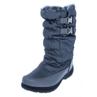 Sporto Womens Makela Winter Boots Quilted Waterproof