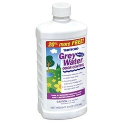 Thetford RV Grey Water Odor Control 15842, 24 oz. Bottle