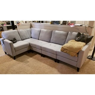 Shop Zahra 5 Piece Fabric Sofa Sectional By Christopher