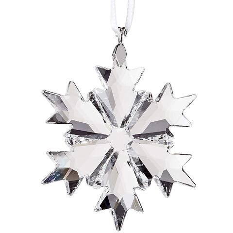 Swarovski Little Snowflake Ornament Clear Crystal Large - 1.9 x 1.5 x 0.2