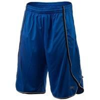 UFC Men's Moisture Wicking Side Winder Sport Shorts - Blue/Black/White