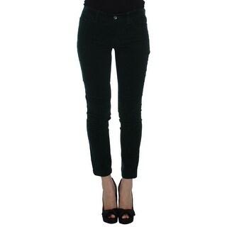 Dolce & Gabbana Dolce & Gabbana Green Cotton Stretch Corduroys Jeans