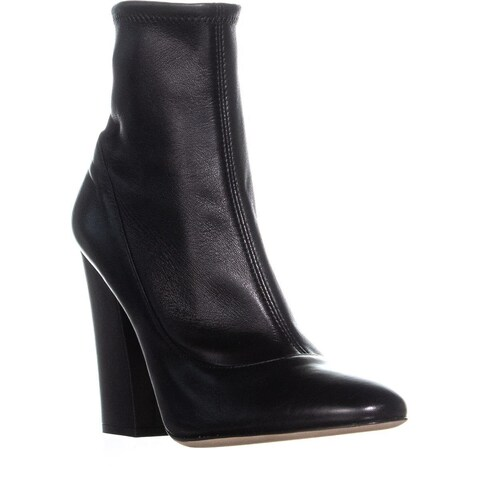 Sergio Rossi A75281 Zip UP Ankle Boots, Cuoio/Ricoperto - 7.5 US / 37.5 EU