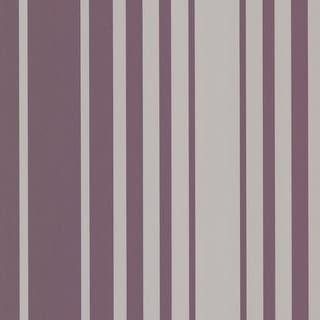 Brewster 2533-20223 Lewitt Purple Barcode Stripe Wallpaper