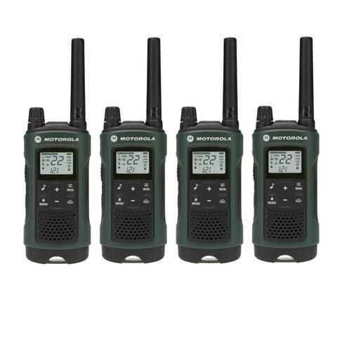 Motorola T465 (4 Pack) Two Way Radio - Multicolor