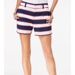 Tommy Hilfiger NEW Blue Women's Size 12 Hollywood Striped Shorts