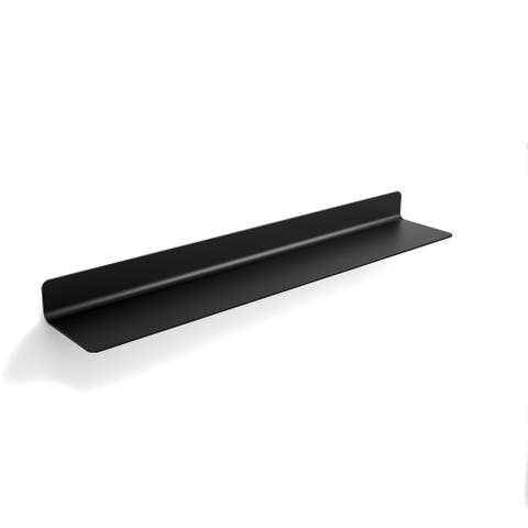 "WS Bath Collections Seta 51808 Seta 25"" Wall Mounted Bathroom Shelf"