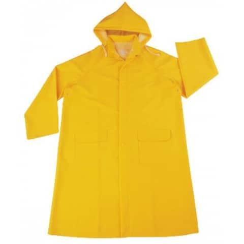 Diamondback PY-800XL Raincoat/Hood, Yellow, X Large