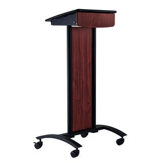 Oklahoma Sound CVS Conversation Lectern, Black Powder Coated