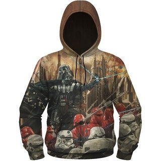 Star Wars Darth Vader Epic Lord Men's Sublimated Zip Hoodie (2 options available)