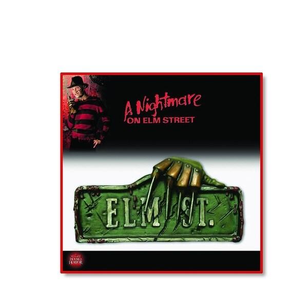 A Nightmare on Elm Street 2-Piece Halloween Sign Set