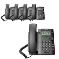 Polycom VVX 101 (2200-40250-025) (5-pack) 1-line Desktop Phone PoE