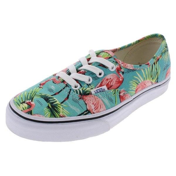 2002bf3c2fea06 Vans Womens Authentic Skate Shoes Flamingos Low Top - 6.5 medium (b