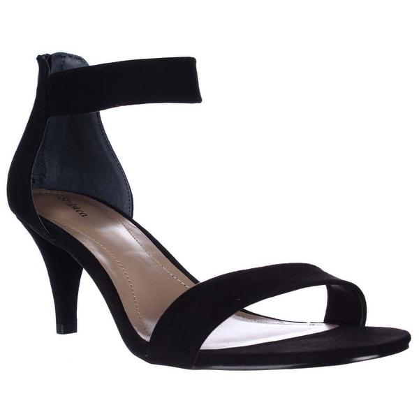 SC35 Paycee2 Dress Heels Sandals, Black