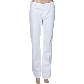 Adriano Goldschmied Womens The Ballad Slim Bootcut Jeans Five Pocket Mid-Rise - 32