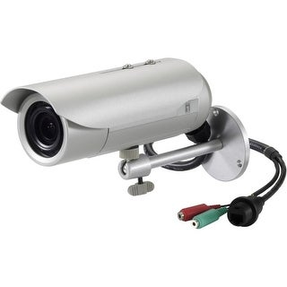 LevelOne FCS-5057 LevelOne H.264 3-Mega Pixel FCS-5057 PoE WDR IP Dome Network Camera (Day/Night/Indoor/Outdoor), TAA Compliant