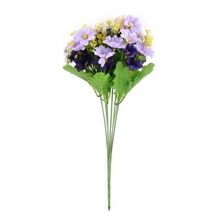 Artificial Chrysanthemum Flower Bouquet Wedding Home Garden Decor Light Purple