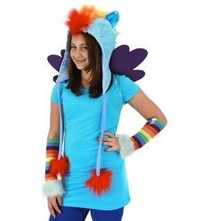 My Little Pony Rainbow Dash Costume Hoodie Hat