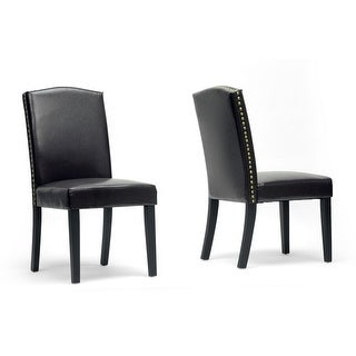 Trullinger Dark Brown Modern Dining Chair - 2 Chairs