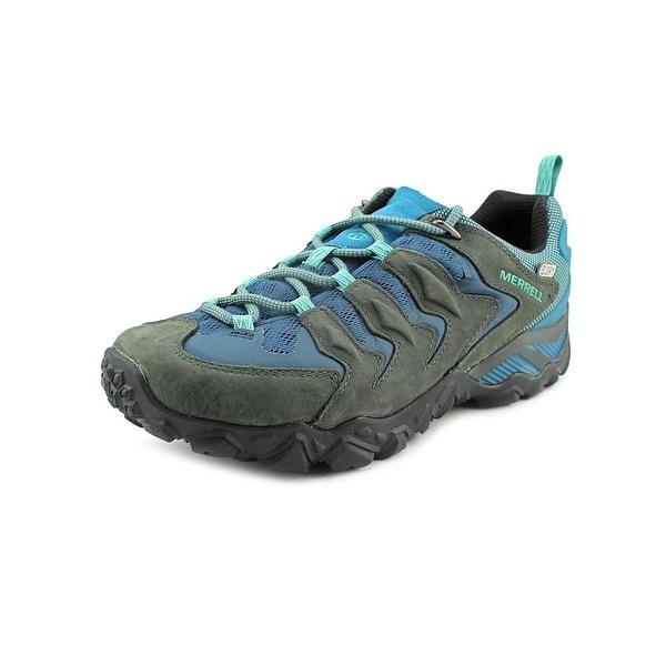 Merrell Chameleon Shift Vent WTPF Women Round Toe Leather Hiking Shoe