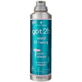 got2b Mind Blowing Quick Shape Mousse, 8 oz