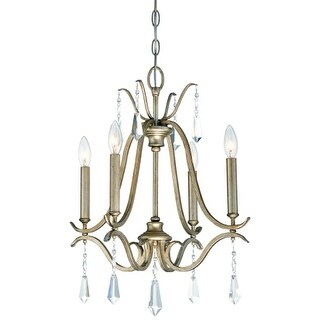 Minka Lavery 4444-582 4 Light One Tier Mini Chandelier from the Laurel Estate Collection