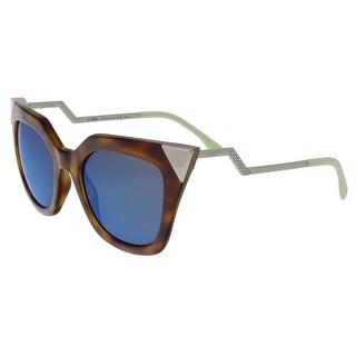 Fendi FF0060S 0W43 Iridia Havana Cat Eye Sunglasses