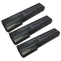 Replacement Battery 4400mAh For HP Elitebook 8560P / Probook 6475B Laptop Models - 3 Pack