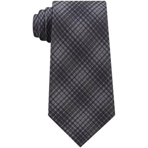 Calvin Klein Mens High Rise Self-Tied Necktie - One Size