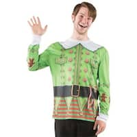 Ugly Christmas Elf Sweater Lg