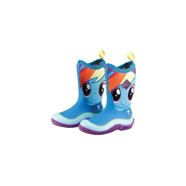 84cf4e3c08 Muck Boots Rainbow Dash Youths Hale Hasbro Outdoor Sport Boot - Size 4