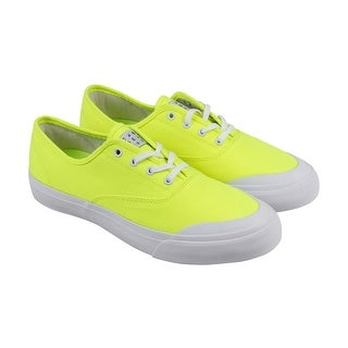 Huf Cromer Mens Yellow Textile Lace Up Lace Up Sneakers Shoes
