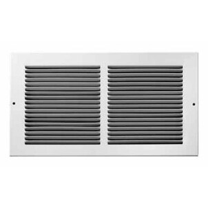 "Truaire C123RW 12X06 Return Baseboard Register Grille, 12"" x 6"""