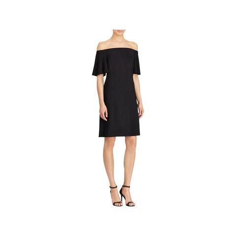 c2fdc9f3b05 American Living Womens Cocktail Dress Off-The-Shoulder Mini