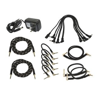 Monoprice Guitars Pedal Audio and Power Accessory Pack